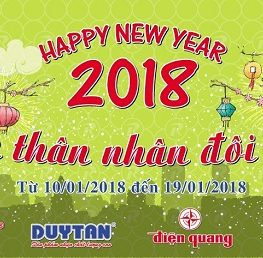 "RANG DONG PLASTIC AND MOBILE SALES PROGRAM IN THE NEW YEAR 2018 ""NEW YEAR OF FRIENDSHIP – DOUBLE JOY"""